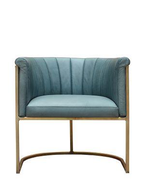 Enrique-Club-Chair-Undercool-(Matt)-Brass-Antique-Metal-Frame-Pure-Furniture1