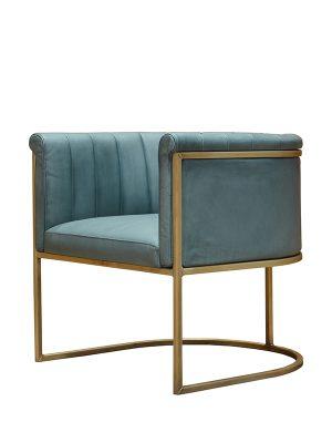 Enrique-Club-Chair-Undercool-(Matt)-Brass-Antique-Metal-Frame-Pure-Furniture2