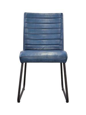 Sabina-Easy-Blue-(Glossy)-E-Stitching-Tamponata-Metal-Frame-Pure-Furniture1