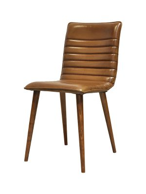 Sabina-Skinny-Light-Brown-(Glossy)-E-Stitching-Wooden-Frame-Pure-Furniture4