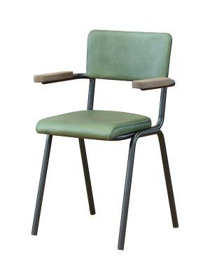 Schoolchair-With-Arms-Ocean-matt-Pure-Furniture1