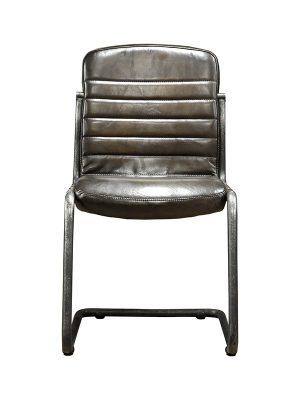 Sean-Armchair-Gun-Metal-(Glossy)-E-Stitching-Pure-Furniture1