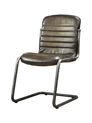Sean-Armchair-Gun-Metal-(Glossy)-E-Stitching-Pure-Furniture2