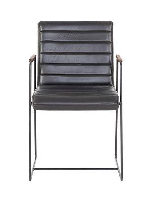 birgit-square-back-wooden-armrest-round-black-frame_FUMEE-Pure-Furniture-2