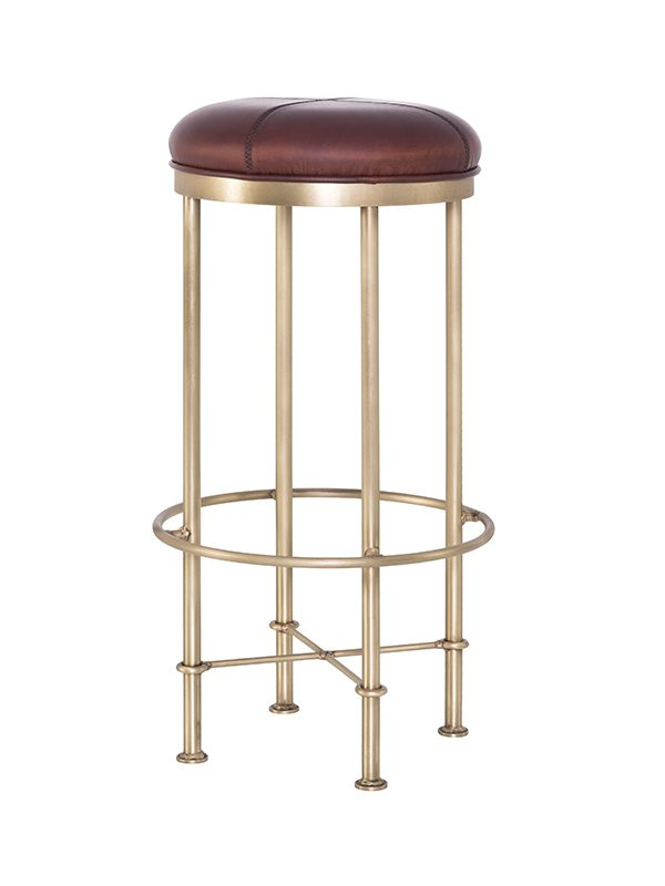evan-barstool_caramel-caffe-matt_brass-antique-frame-pure-furniture2